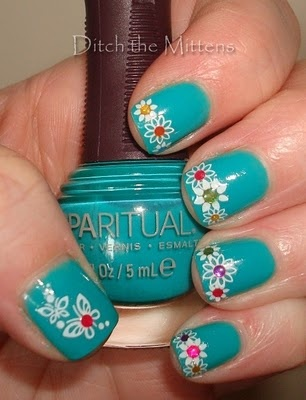 Would love to recreate this with different colored dots instead of rhinestones