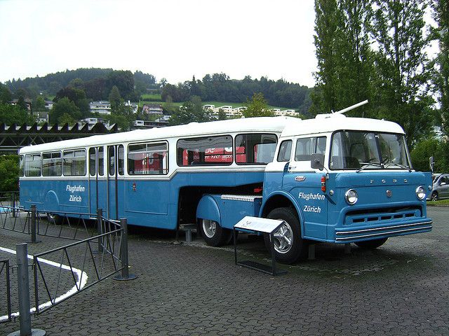 Swiss made Truck with passenger trailer | Flickr - Photo Sharing!