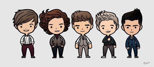 One Direction by CHACHRIST.deviantart.com on @deviantART