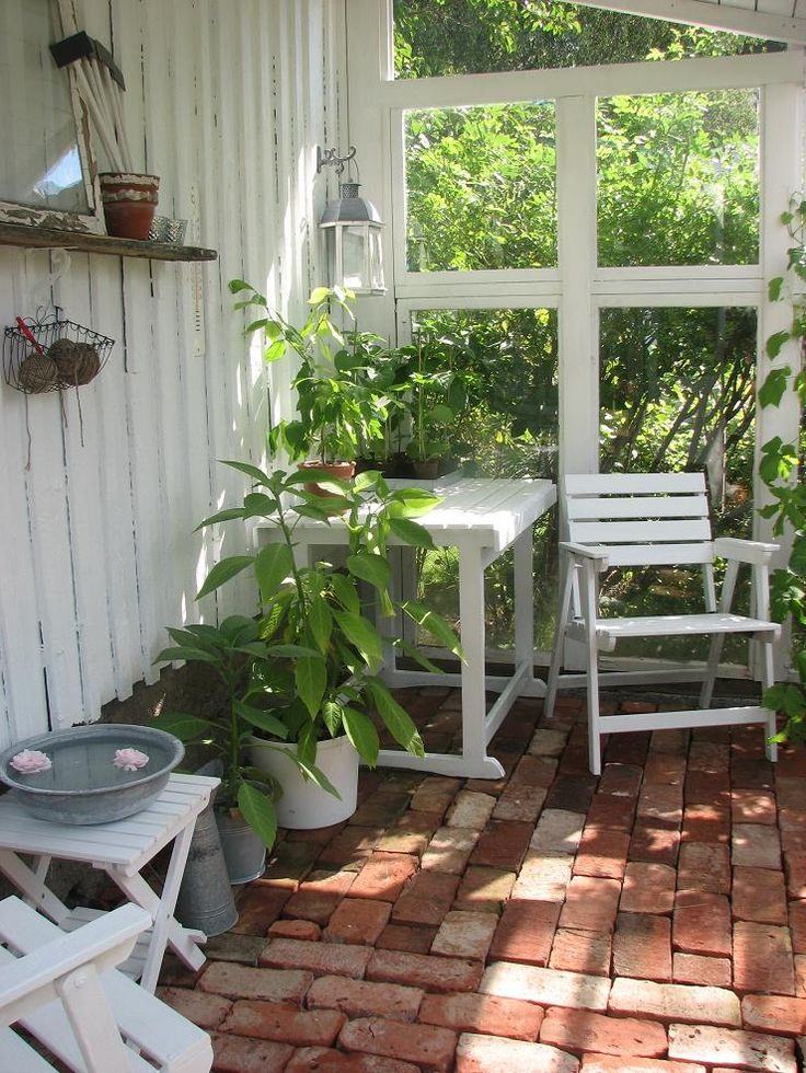Inspiration för framtida uterum/växthus