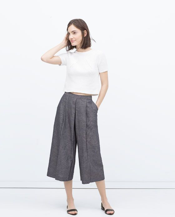 Zara CULOTTES Found on my new favorite app Dote Shopping #DoteApp #Shopping
