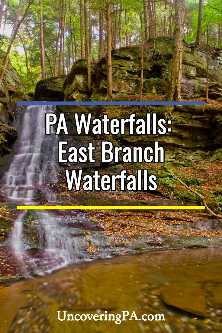 Pennsylvania Waterfalls How to Get to East