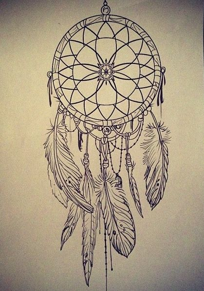 dreamcatcher sketch google search tattoo mania