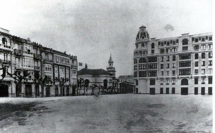 Plaza de Galicia a principios de siglo. La Coruña