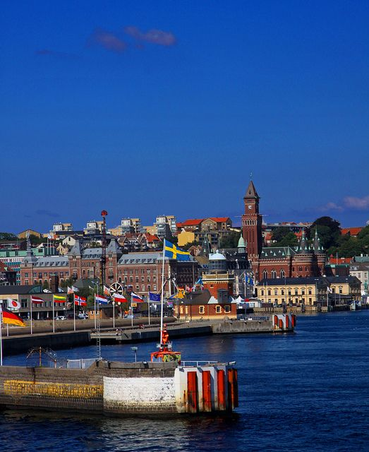 I truly love this city, which is why it will be featured in my next book, current in progress, Helsingborg, Sweden