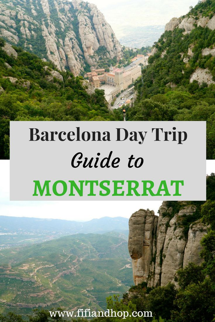 One of the highlights of our vacation to Barcelona was taking a day trip to Montserrat, a beautiful mountain range and monastery an hour outside of the city. Here is our guide (which is kids and family friendly) on what to see and do in Montserrat.