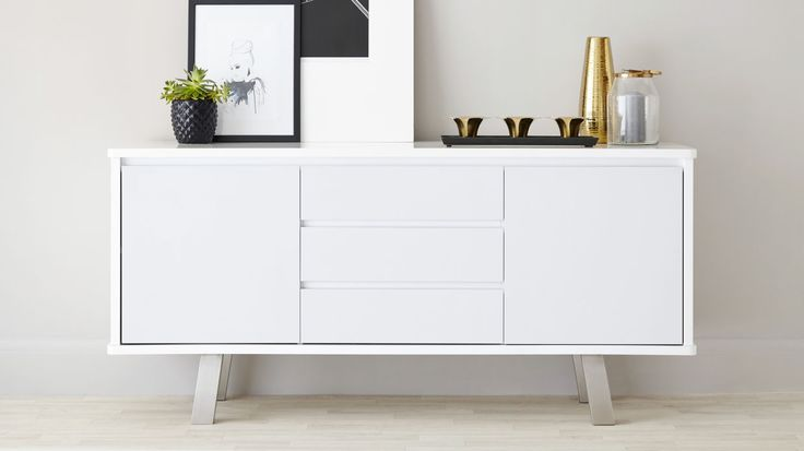 Assi White Gloss Sideboard £429.00