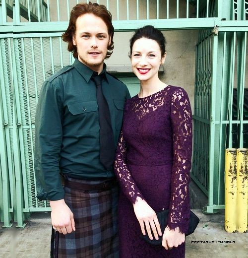 sam dating catriona Watch video it's certainly not a stretch to assume sam heughan and caitriona balfe are an item in real life – their palpable, on-screen chemistry is one of the reasons starz' outlander is such a kilty.