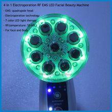 Korea Electroporation Mesotherapy Bio Photon Light EMS Microcurrent RF Radio Frequency Skin Lift Tighten Rejuvenation Machine(China (Mainland))