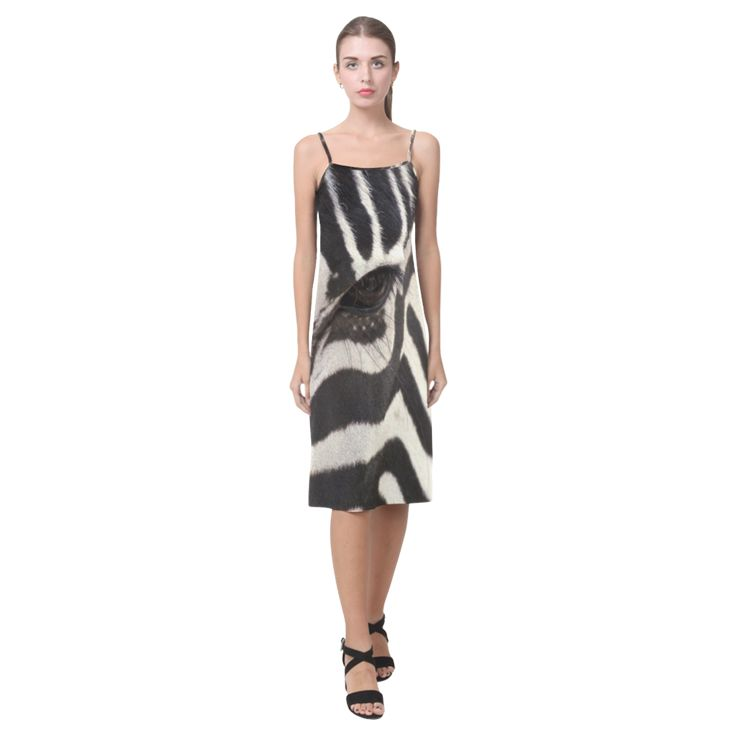 Zebra Alcestis Slip Dress. Relaxed fit. Material: Made from 92% Polyester, 8% Spandex. Sizes: XS,S,M,L,XL,XXL,XXXL.FREE Shipping. #beoriginalstore #dresses