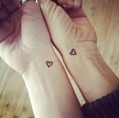 30 Inspiring and Beautiful Mother Daughter Tattoos                                                                                                                                                                                 More