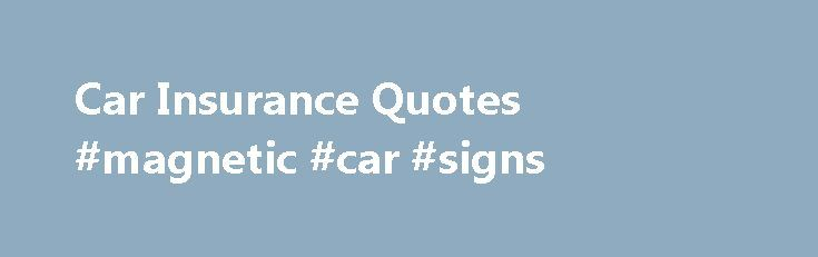 17+ Best Ideas About Magnetic Car Signs On Pinterest