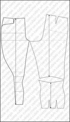El pantalón de equitación de jinete o jockey. http://www.comocubriruncuerpo.org