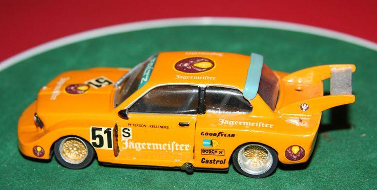 HAND BUILT GRAND PRIX MODELS JAGERMEISTER BMW 320 SILHOUETTE 1977 SILVERSTONE 6H