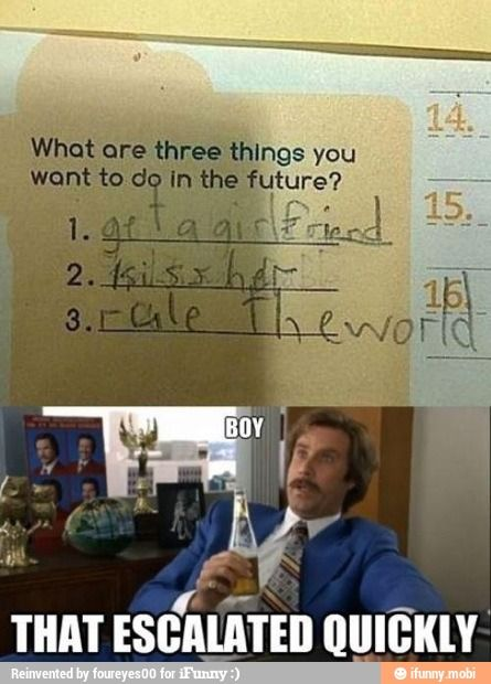 iFunny :): Quick Escal, Ron Burgundy, Laughing, Dreams Big, Too Funny, Funny Stuff, Kids, So Funny, Memorial Mornings