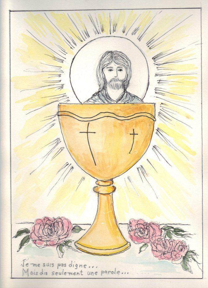 Neuvième jour : Communion - Verset : Et nous, nous avons connu l'amour que Dieu a pour nous, et nous y avons cru. Dieu est amour ; et celui qui demeure dans l'amour demeure en Dieu, et Dieu demeure en lui. - 1 Jean 4 :16    Sainte Thérèse de l'Enfant Jésus, préparez-moi vous-même à recevoir Notre Seigneur, ou, si je ne le puis, à m'unir à lui en me conformant à sa sainte volonté. Faites que je dise sincèrement et du fond du cœur :