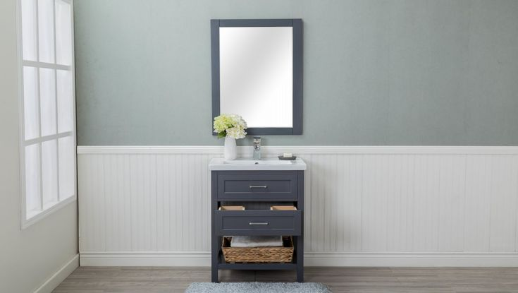 "Caudillo 30"" Single Bathroom Vanity Set"