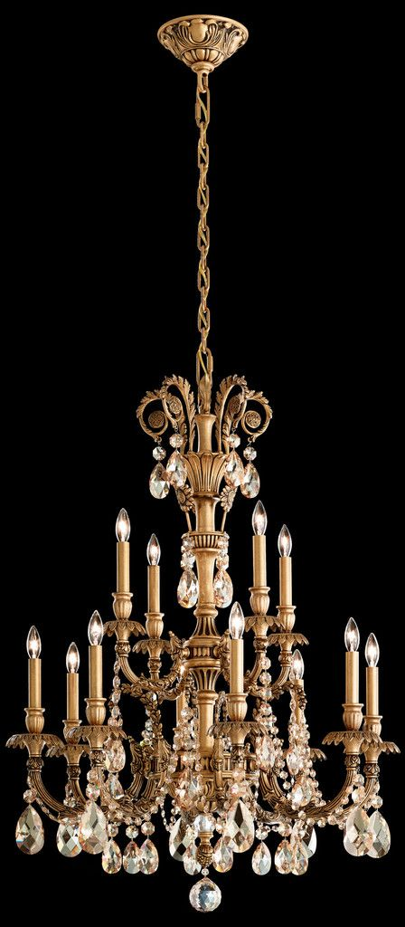Product Overview for the Schonbek GE4722 Chandelier The Schonbek Genzano GE4722 is a crystal chandelier available in Aurelia, Florentine Bronze, Heirloom Gold, Midnight Gild, Parchment Gold, Polished