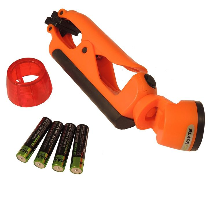 Blackfire Clamplight Emergency LED Light-Orange