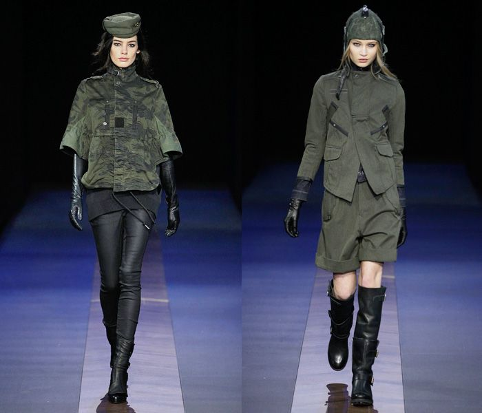 G-Star RAW 2013-2014 Fall Winter Womens Runway Collection - Bread and Butter Berlin