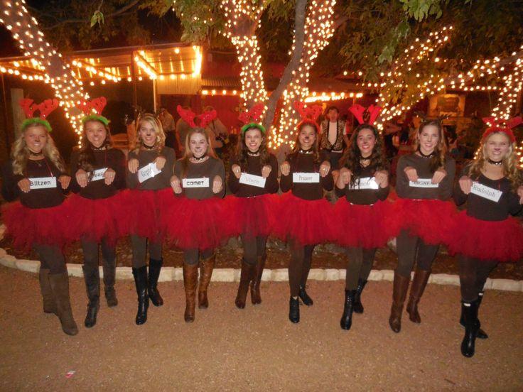Group Halloween costume: santa's reindeer!