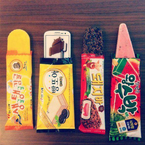Yum! Korean Popsicles.