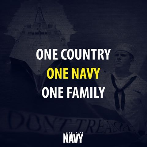 We are so grateful for the support from our #USNavy family.