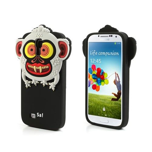 Monster (Zwart) Samsung Galaxy S4 Hoesje