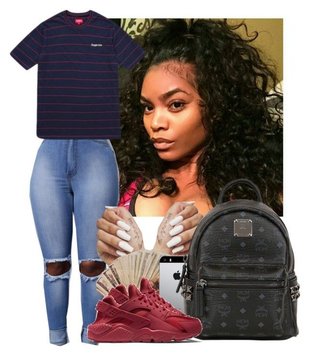 """""""7.17.16"""" by heavensincere ❤ liked on Polyvore featuring MCM and NIKE"""