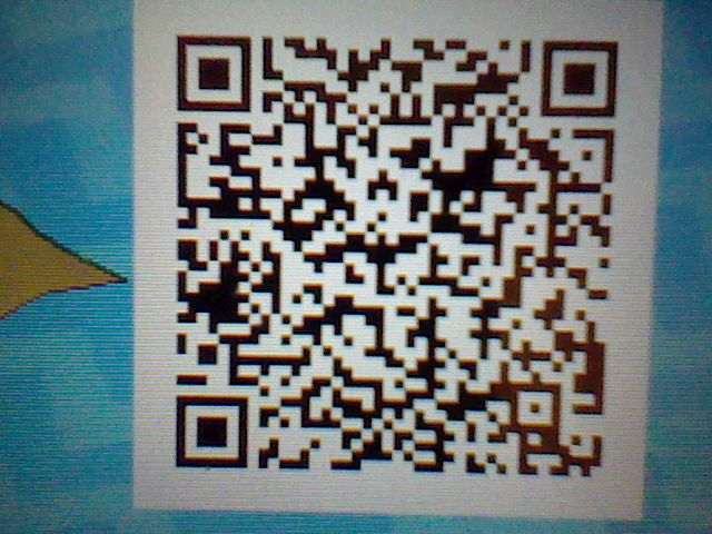 The Pokemon Ultra Sun / Moon QR code for My Shiny Volcarona