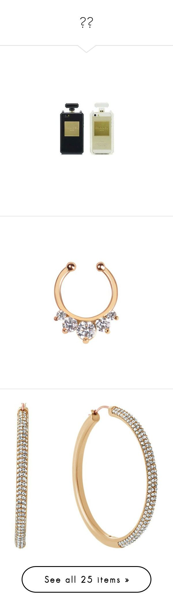 """""""✨"""" by saucinonyou999 ❤ liked on Polyvore featuring jewelry, gold jewelry, gold body jewelry, fake jewelry, body jewelry, imitation jewelry, earrings, gold, yellow gold earrings and gold earrings"""