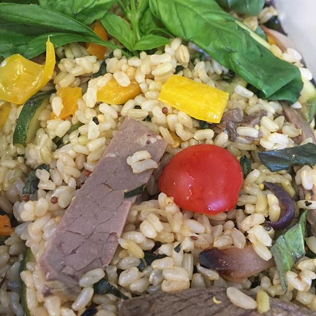 The perfect blend of protein in this tasty salad. Great taste and good for you too! #2delicious4words #Sydney #protein #meat