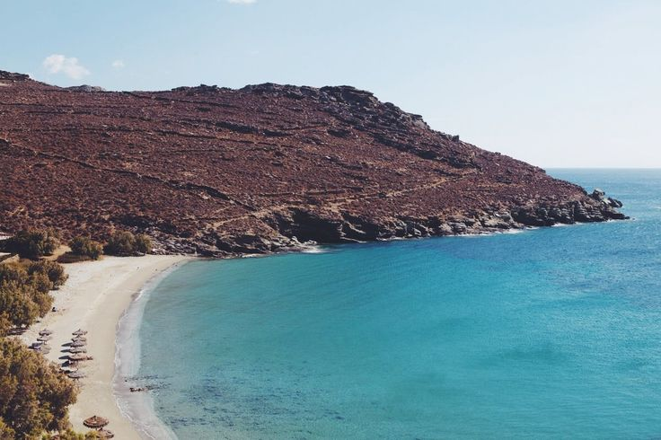 Beach in Tinos #tinos #greece #cyclades #sea #beach #beaches www.feggeratinos.com