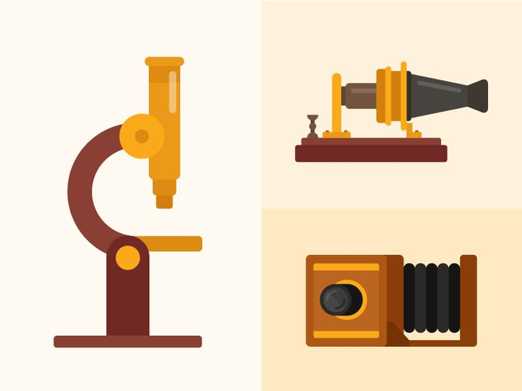 Some illustrations from our Tinycards deck, Famous Inventions.   http://tinycards.duolingo.com/web/decks/6940e89e-eb2e-4efd-8514-25776bddbaca