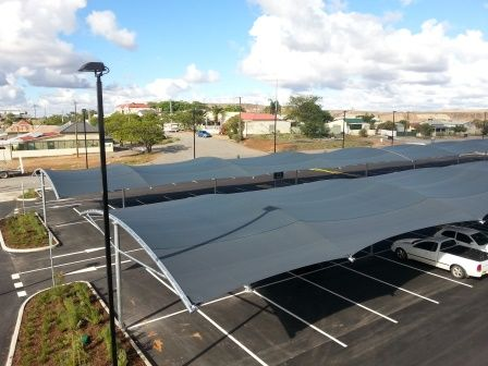 RAINBOW SHADE FABRIC - COMMERCIAL PARKING