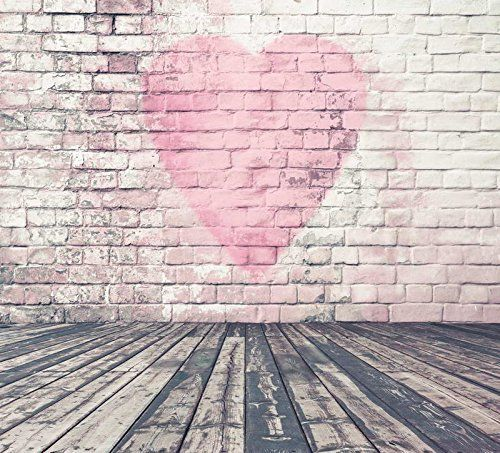 5x7ft White Pink Heart Brick Wall Weathered Wood Floor Ph... https://www.amazon.co.uk/dp/B01LYKYK8J/ref=cm_sw_r_pi_dp_x_P8ZcybS34QEFJ
