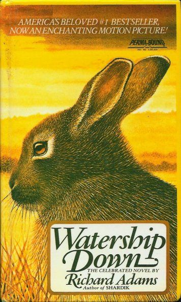 Watership Down     -   Published in 1972, Watership Down was Richard Adams' first novel, and is by far his most successful to date. Although it was initially rejected by 13 publishers before eventually being accepted by Rex Collings Ltd, Watership Down has never been out of print, and was the recipient of several prestigious awards. Adapted into an acclaimed classic film and a television series, it is Penguin Books' best-selling novel of all time.