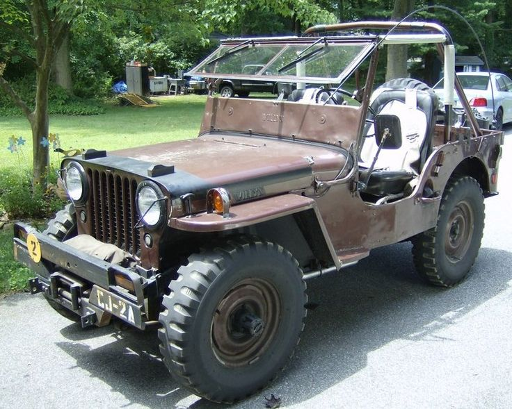 1947 willys cj2a jeep everjeepin pinterest jeeps jeep willys and jeep stuff. Black Bedroom Furniture Sets. Home Design Ideas