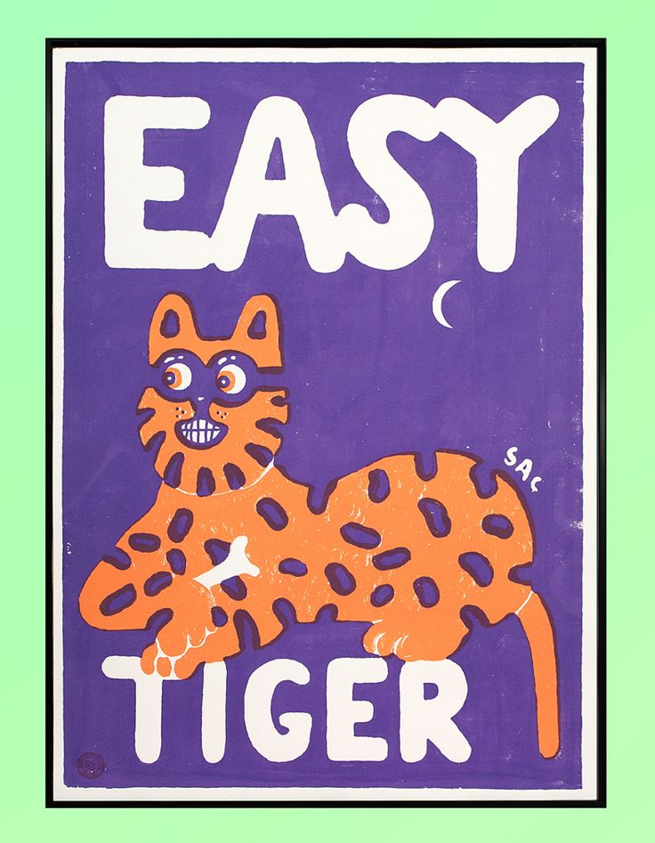 Easy Tiger - sac magique: big #cat