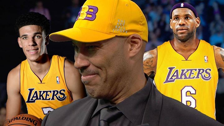 "Lavar Ball was asked what he thought about LeBron James joining the LA Lakers next summer and playing with his son Lonzo Ball and said. ""If he does he'll retire as a champion.""  - Father Flash"