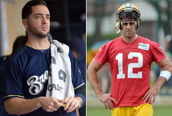 D'OH! Aaron Rodgers, who 'put my salary on' Ryan Braun being clean, probably regrets that now