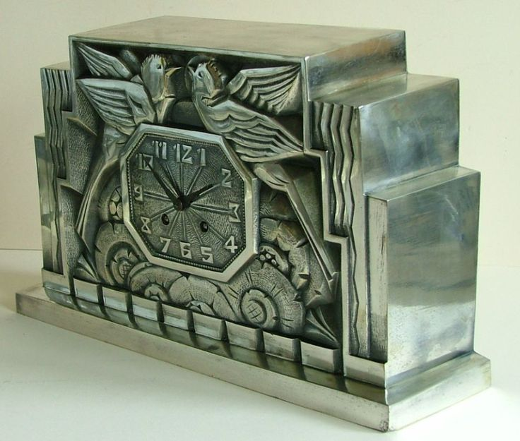 Fabulous French Art Deco Clock by C. Terras , little gift from Tom Buchannan to Daisy perhaps?  To conceal his guilt for running off with Myrtle?
