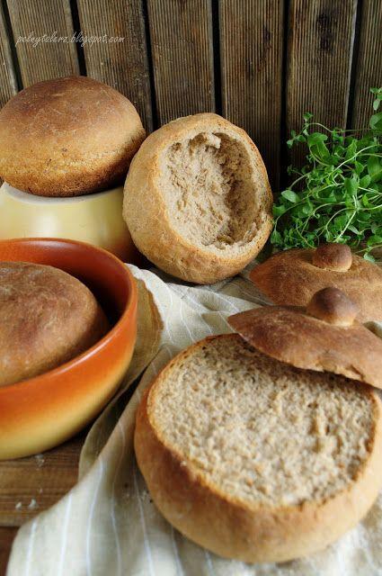 Chlebki do żurku i nie tylko.. ;) (Bread bowls - recipe in Polish)
