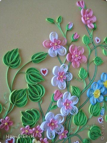 Schilderij muurschildering tekenen Family Day applique Papier Quilling Family nest band Kartonnen Lijm foto 12