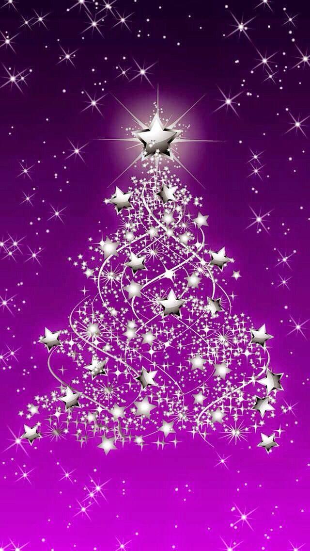 Iphone wallpaper christmas tjn iphone walls christmas - Purple christmas desktop wallpaper ...