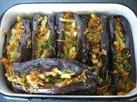 Кимчки из фаршированных баклажанов