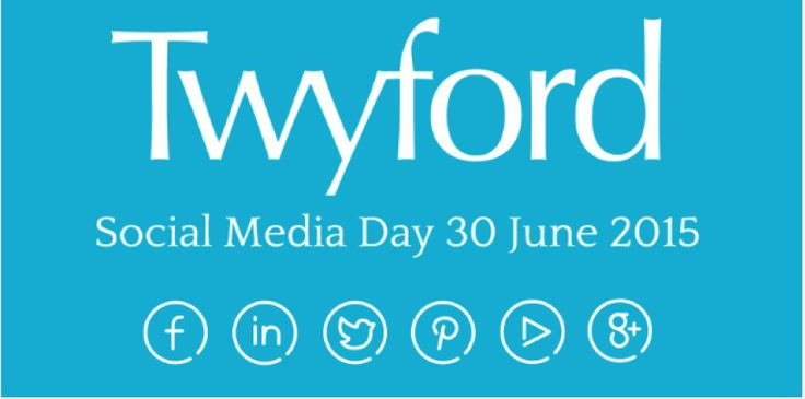 It's  #SocialMediaDay – time to connect with #Twyford !