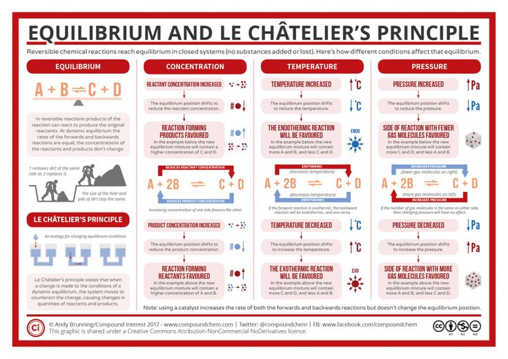 Reversible Reactions, Equilibrium, and Le Chatelier's Principle
