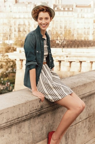 Always fall in love with Madewell style