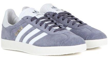 Gazelle Blue Suede Sneakers By Adidas Originals